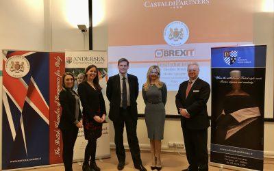Post-Election Brexit Talk at Andersen International School