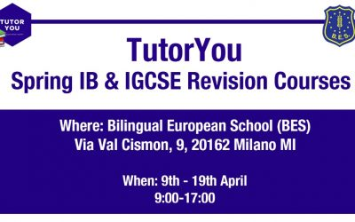 TutorYou Spring 2020 IB & IGCSE Revision Courses