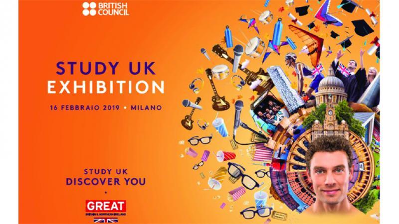 British Council Study UK Fair, Milan 16 FEB 2019