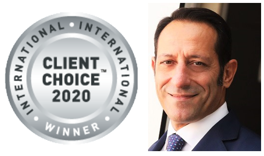 THE CLIENT CHOICE:LABLAW MANAGING PARTNER FRANCESCO ROTONDI