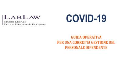 Covid-19 Guida operativa per una corretta gestione del personale dipendente