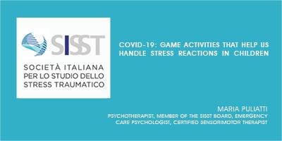 Game activities that help us handle stress reactions in children