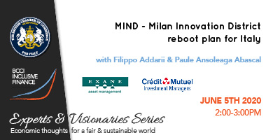 Webinar: MIND – Milan Innovation District reboot plan for Italy