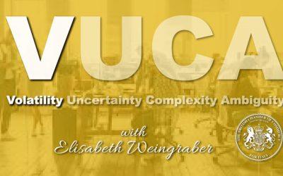 BCCI Webmeeting series on VUCA with Elisabeth Weingraber-Pircher