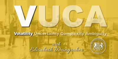 BCCI Webmeeting series on VUCA with Elisabeth Weingraber-Pircher