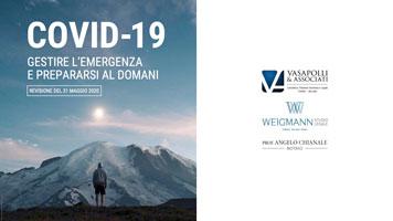 UPDATE 16-06-20: COVID-19 – GESTIRE L'EMERGENZA E PREPARARSI AL DOMANI