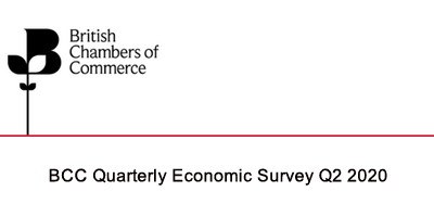 BCC Quarterly Economic Survey Q2 2020: Chancellor must set out roadmap to recovery as UK economy endures historic setback