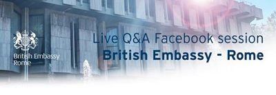 ++ Travel & Movement – Live Q&A – Facebook session, 17:00-18:00 on Thursday 27 August ++