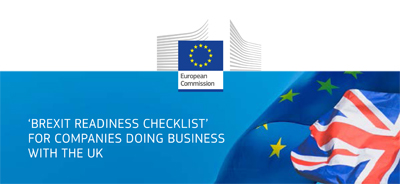 'BREXIT READINESS CHECKLIST' FOR COMPANIES DOING BUSINESS WITH THE UK