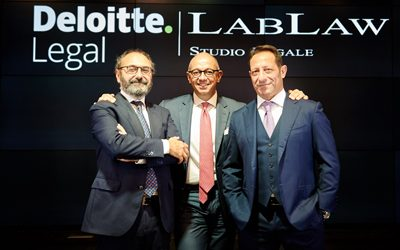 LabLaw and Deloitte Legal announce a strategic alliance aimed at promoting the union between excellence in labour law and multidisciplinarity and innovation in the legal advisory services market