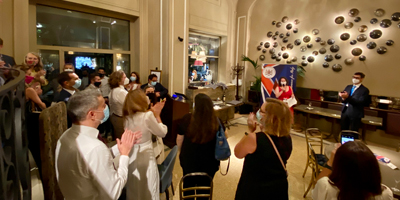 Welcome back Aperitif 2020 – Live event at the Grand Hotel et De Milan