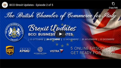 Recording available – BCCI Brexit Updates: Episode 2 – 29 October 2020