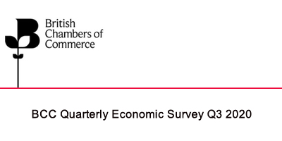 BCC Quarterly Economic Survey Q3 2020: Nearly half of firms report UK sales decrease as businesses endure sustained cash crunch