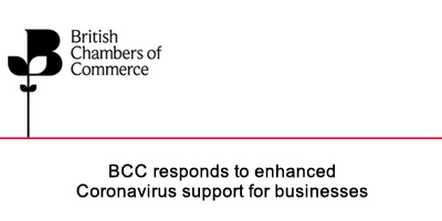 BCC responds to enhanced Coronavirus support for businesses