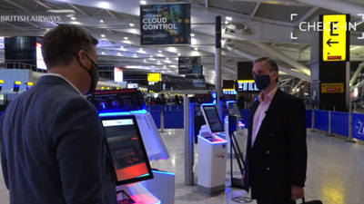 British Airways and COVID measures for air travel