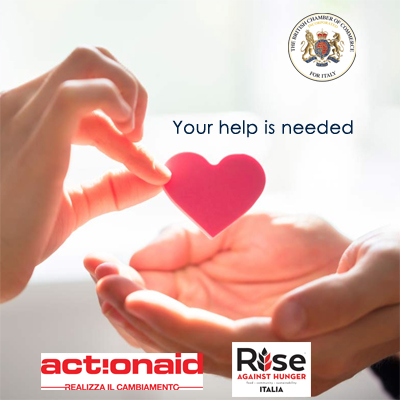 BCCI Charity Programme: Action Aid Italia and Rise Against Hunger Italia