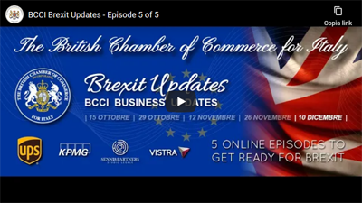Recording available – BCCI Brexit Updates: Episode 5 – 10 December 2020