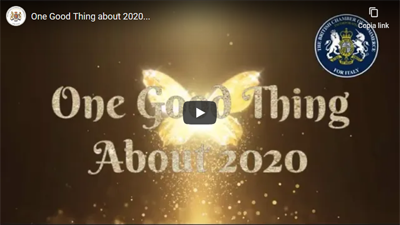 One Good Thing about 2020…