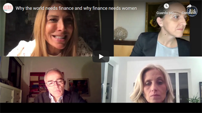 Recording available – Why the world needs finance and why finance needs women – 26 November 2020