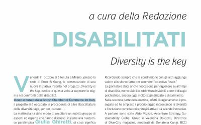 DISABILITATI Diversity is the key