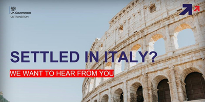 Survey for UK Nationals living in Italy