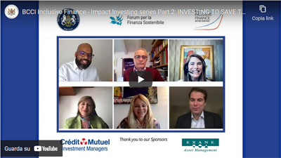 Recording available – Impact Investing series Part 2:  INVESTING TO CHANGE THE WORLD – 4 May 2021