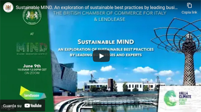 Recording available – Sustainable MIND – 9 June 2021