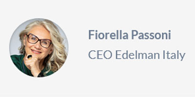 """Of Hygiene and Partnership"" by Fiorella Passoni, CEO Edelman Italy"