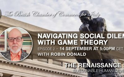 Recording available • THE RENAISSANCE SERIES – EP.2 NAVIGATING SOCIAL DILEMMAS WITH GAME THEORY  • 14 Sept. 2021