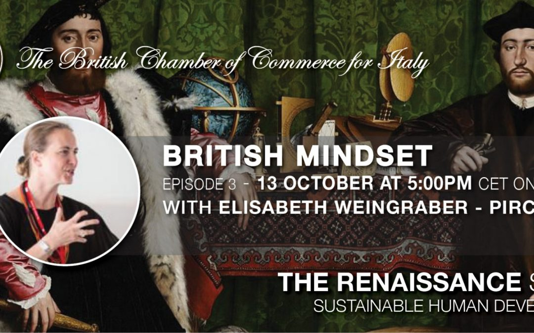 Recording available • THE RENAISSANCE SERIES – EP.3 BRITISH MINDSET • 13 Oct. 2021