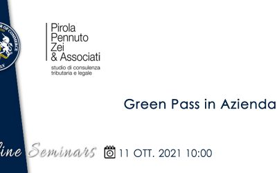 Recording available • BCCI Tax & Legal presents: Green Pass  • 11 Oct. 2021