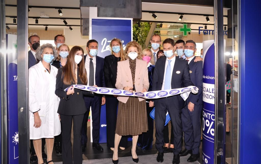 New Boots Pharmacy opened in San Babila